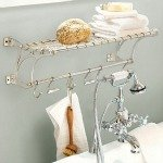 Bath accessories, including linens