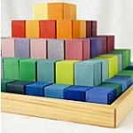 Building blocks, arts & crafts, puzzles