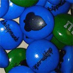 Our very own Chippmunk branded M&M's!