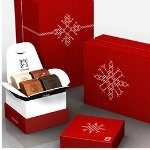 Elegant gift chocolates