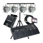 DJ and lighting equipment