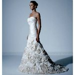 Designer bridal gowns at deep discounts