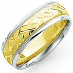 Classic wedding bands for him & her