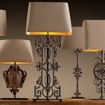 Shop lighting, fixtures, table lamps