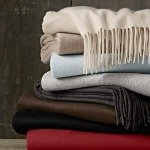 Shop for cashmere throws and pillows