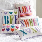 Cute pillows and room accessories