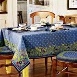 Tablecloths, linens, dinnerware