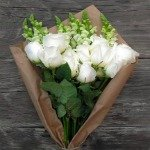 Pure white roses for any occasion
