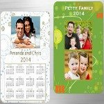 Personalized magnets and calendars