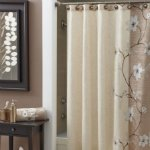 Bathroom linens and curtains