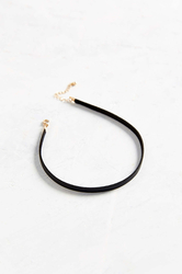Allie Leather Choker Necklace