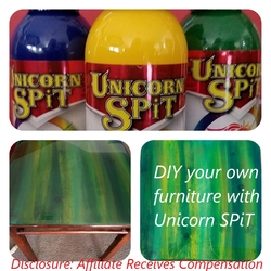 Unicorn SPiT Gel & Wood Stain & Glaze
