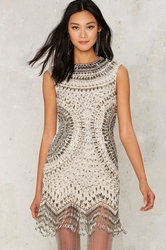 Nasty Gal Collection Swingin' in the Rain Fringe Dress