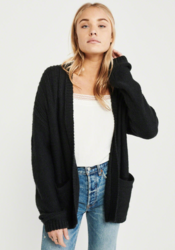 PUFF LONG SLEEVE CARDIGAN