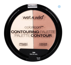 Wet n Wild Color Icon Contouring Palette, 749A Dulce De Leche, 0.46 oz