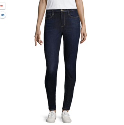 Arizona High-Rise Jeans (Dark blue)