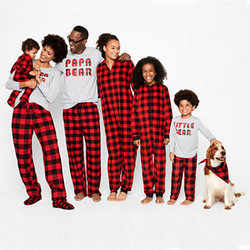 Matching Family Christmas PJ Sets