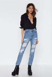 Anything You Fray Distressed Jeans