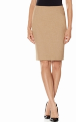 Angled Inset Pencil Skirt