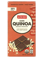 Alter Eco Organic Dark Chocolate 60% Cocoa Quinoa -- 2.82 oz