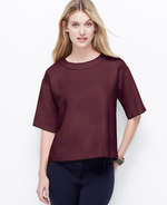Petite Drop Shoulder Tee