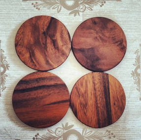 Love these wooden coasters!