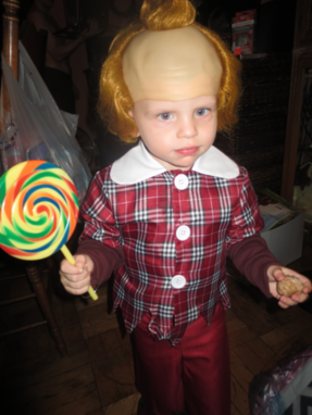 Aiden as a Lollipop Kid from the Wizard of Oz