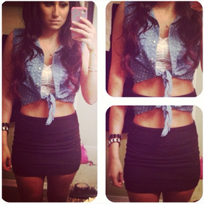 In love with crop tops this summer