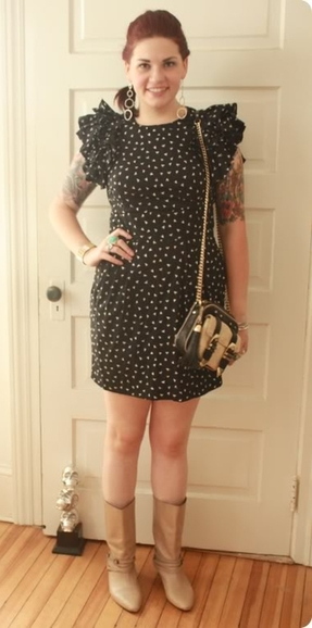 sassy french connection dress