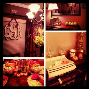My Dining Room is ready for the fall!