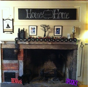 Halloween Mantle #1 completed!!